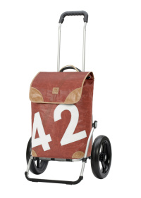 Andersen Royal Shopper  Aluminium LEE med 29cm kullagrade hjul