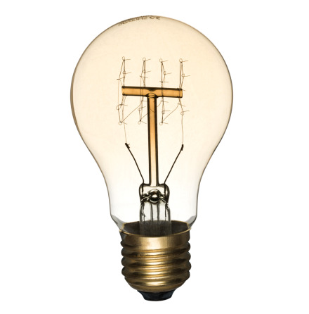 Koltrådlampa Antique Normal 60W E27