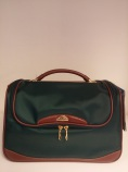 Samsonite Marquess II Beauty Case Green / Cognac
