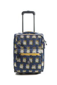 Pick & Pack Trolley Owl Denim Blue